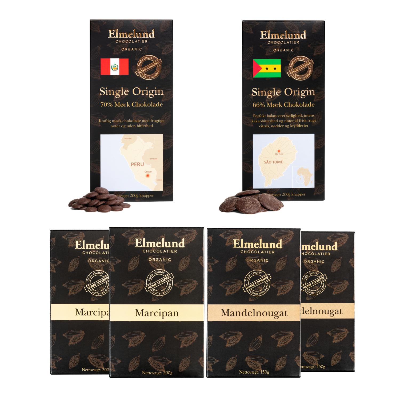 Billede af Konfektpakke Mørk & Mandelnougat