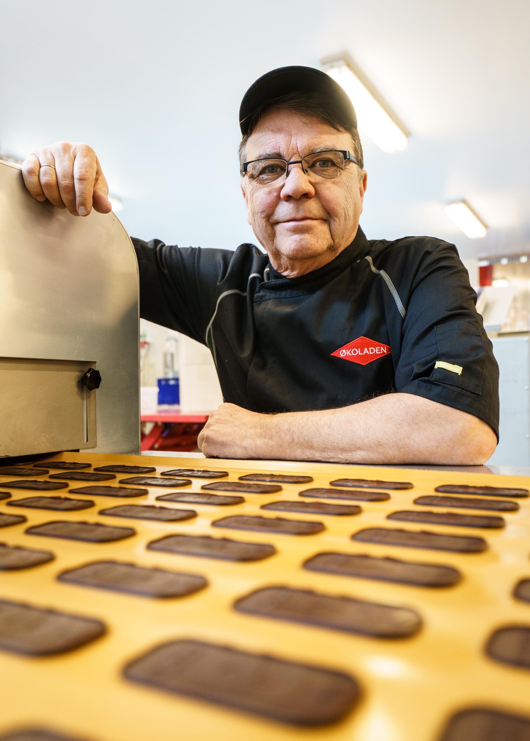 Jan Elmelund laver håndlavet dansk chokolade