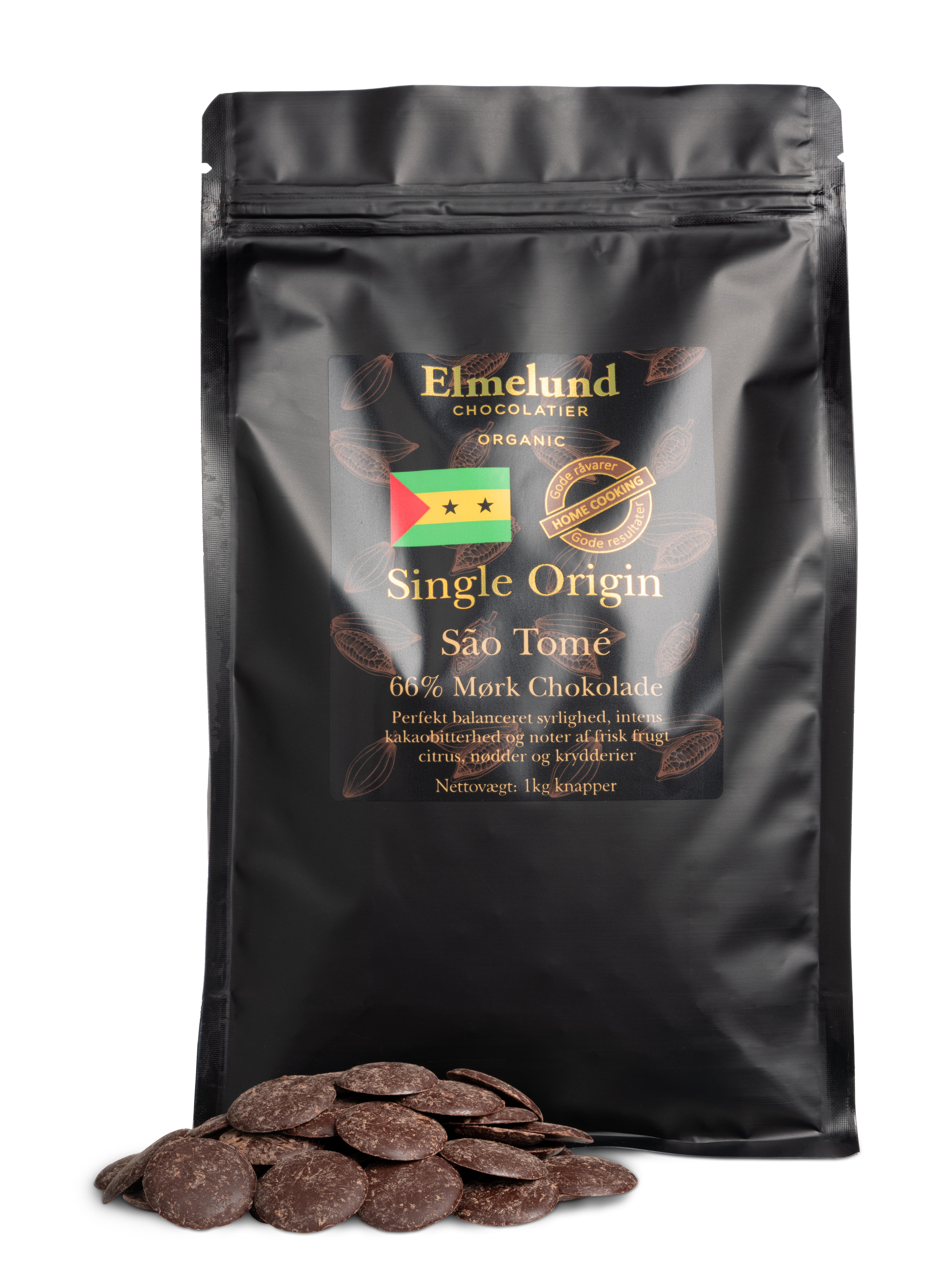 Billede af 1kg - São Tomé 66% Mørk Chokolade